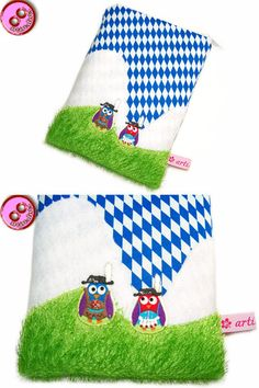 eReader Tasche Meine Heimat Holldriö von artistalista - textile Kostbarkeiten auf DaWanda.com