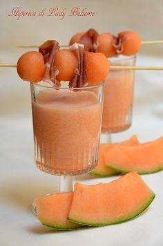 Mousse di melone melon mousse #recipe