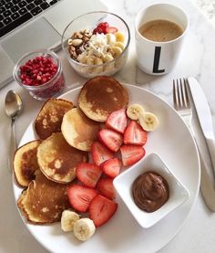 food_drink - Easy Healthy Breakfast Ideas & Recipe to Start Excited Day Think Food, I Love Food, Good Food, Yummy Food, Delicious Meals, Fun Food, Tasty, Plats Healthy, Food Goals