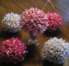 Candy centerpieces
