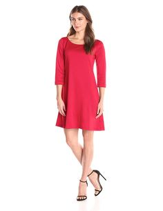 Tiana B Women's Solid Ity Dress ** If you love this, read review now : Dresses