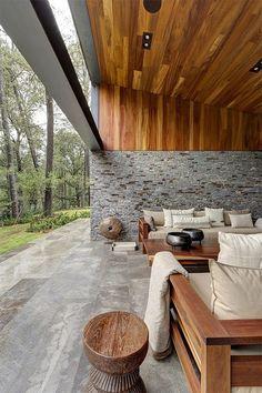 兄弟それぞれの夢を叶えた、ラグジュアリーな二世帯豪邸 in メキシコ ... modern-home-32
