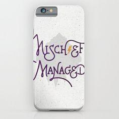"Harry Potter ""Mischief Managed"" Phone Case ($35-$98)"