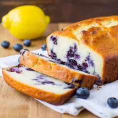 I've updated my favorite Lemon Yogurt Cake recipe with fresh blueberries and rich Greek yogurt. The results are a sweet and simple treat perfect for spring! Don't use frozen blueberries, fresh is the best. Lemon Desserts, Lemon Recipes, Sweet Recipes, Delicious Desserts, Cake Recipes, Desserts With Yogurt, Baking With Yogurt, Greek Sweets, Blueberry Yogurt Cake