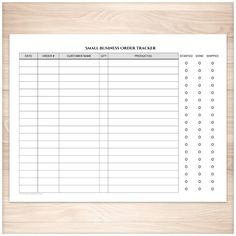 Easy to use Small Business Order Tracking page to help you keep track of your orders and order statuses. A printable full page Small Business Order Tracking Page that is a handy tool for small busines Small Business Start Up, Small Business Marketing, Starting A Business, Business Planning, Business Tips, Online Business, Business Names, Cleaning Business, Media Marketing