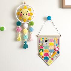 Image of Sunny Pom Pom Hanging