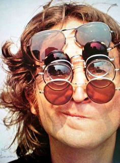 John Lennon @njoy  one of my friends pinned this today... Soooo cool!  #makelovenotwar  Peace V