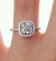 Gorgeous- Although if the center stone was asscher cut I'd love it even more!