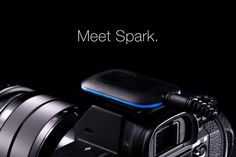 Take better photos with Spark, the easiest way to control your camera.