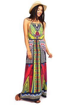 Tropic Tribe Maxi Dress | Maxi Dresses at Pink Ice