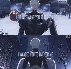 Non voglio che tu muoia per me,voglio che tu viva per me
