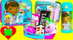 Surprise Lunch Box Doc McStuffins Lunch Bag Water Bottle Back to School