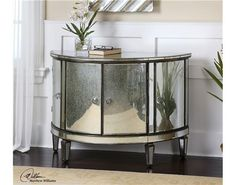 Sainsbury Mirrored Console Cabinet