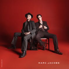 Musician Steve Mackey and his son Marley • Marc Jacobs Fall '15 campaign photographed by David Sims