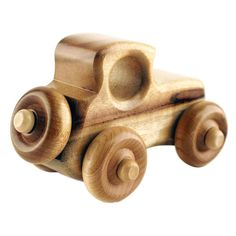 Wood Car Toy: Humbert Myrtlewood | Handmade Toys | Made In Oregon