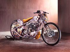 Awesome bike! #HarleyDavidson Speedster by Ehinger Kraftrad. Muy guapa esta Harley construida al detalle desde cero, con la que presumir de una moto custom 100% única #bobber #custommotorcycles #motoscustom | caferacerpasion.com