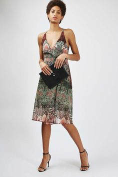 80504f3d51f4 Mix Floral Wrap Slip Dress - Dresses - Clothing - Topshop Nordstrom Dresses,  Print Wrap
