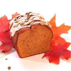 FALL! aka AUTUMN! Rich, moist and decadent are a few words to describe this delicious Pumpkin Bread.