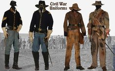 United*American Costume Company provides quality period civilian costumes and military uniforms to the Motion Picture and Television industries. Western Costumes, Vintage Costumes, Period Costumes, Historical Costume, American Civil War, Western Art, Photo Galleries, Real Cowboys, Civil Wars