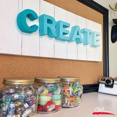 Ideas Craft Room Organization Diy How To Make For 2019 Craft Room Signs, Craft Room Decor, Cricut Craft Room, Craft Room Storage, Craft Desk, Craft Space, Crafts For Seniors, Crafts For Boys, Small Craft Rooms