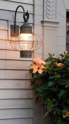 New England Onion Wall Lantern