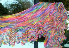 Ravelry: Beatrice Shawl pattern by Samantha Woollard