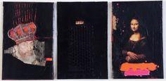 3 Compositions noires sur couverture de par CreationsMarylineL