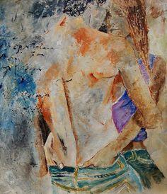 In Love 670707 - Pol Ledent  https://www.artfinder.com/product/in-love-670707 #ArtOfTheDay #Artwork #Art #Painting #OilPainting #LovePainting #Love #InLove #PolLedent