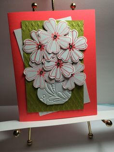 Flower Shop with Watermelon and Cameo Coral. **photo only