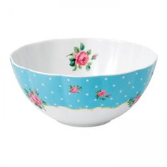 New Country Roses Baking Bliss 2qt Mixing Bowl