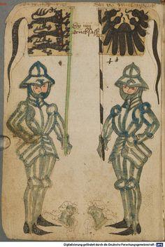 Ortenburger Wappenbuch Bayern, 1466 - 1473 Cod.icon. 308 u  Folio 22v