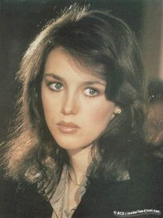 Isabelle Adjani - The Driver with Ryan O'Neal and Bruce Dern Isabelle Adjani, Classic Actresses, Beautiful Actresses, Actors & Actresses, French Beauty, Classic Beauty, Celebrity Twins, Star Francaise, Actrices Hollywood