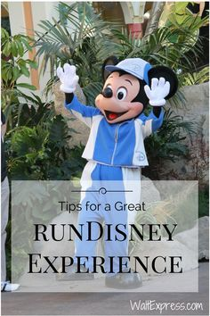 Tips for a Great runDisney Experience in Disney World! #Running #Exercise
