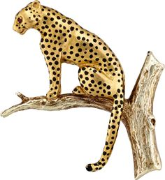 Leopard - Brooch of the Month July 2017