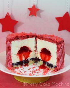 Recipe: (Steven Universe Series, Fusions Pt. 1) Garnet's Bombe Alaska | Pretty Cake Machine