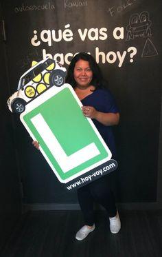 KATHERINE TOALA!!! #hoyvoy #autoescuela #granollers