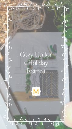 This winter, deck out your dream fireplace with inspiration from Jennifer of Rambling Renovators. Different Holidays, Fireplace Design, Modern Materials, Beautiful Space, Deck, Festive, Holiday Decor, Winter, Projects