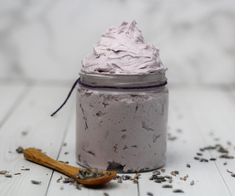 Whipped Soap, Whipped Body Butter, Shea Butter, Cocoa Butter, Lotion En Barre, Homemade Body Butter, Homemade Soaps, Lavender Recipes, Lotion Bars