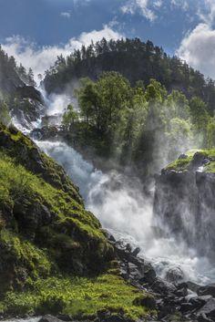 "i-long-to-travel-the-world: ""ponderation: Latefoss by Viggo Johansen """