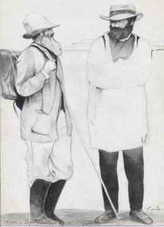 Cezanne y Pisarro