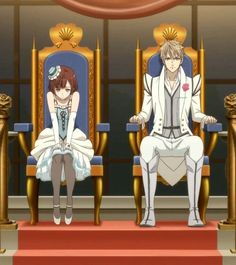 Image discovered by ❅Karlie❅. Find images and videos about anime, dance with devils and tachibana ritsuka on We Heart It - the app to get lost in what you love. Cartoon Tv Shows, Anime Shows, Anime Harem, Dance With Devils, Manhwa, Mystic Messenger Memes, Chibi Couple, Sailor Chibi Moon, Butler Anime