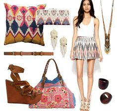 Chic and Cheap Lifestyle: Ikat print