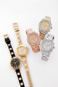 Watches in many different styles and colors #Belk #Watches #Gifts