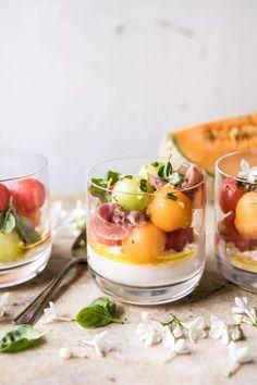 Melon Caprese Salad | halfbakedharvest.com #summerrecipes #caprese #healthy #buratta | Pinned to Loveleaf Co.
