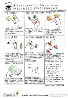 Dark circle remedies