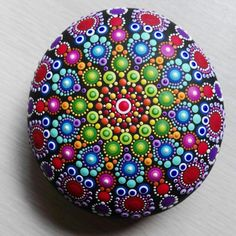 New painted stone is ready ...