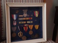 My late father Lincoln Peters WWII US MARINE MEDALS!  He was a True Hero!