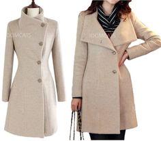 Beautiful wool coat, nice for Fall or early Winter.