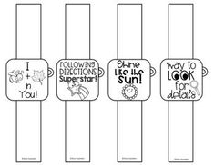 Smart watch brag bracelets are to be used as an alternative to treats in speech therapy that can be expensive and even unhealthy! I got tired of spending tons of money on candy, stickers, and tattoos for my kids so I came up with this! Choose the slide you need to print. Print them on Astrobrigh...