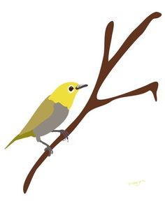 bird art @Etsy